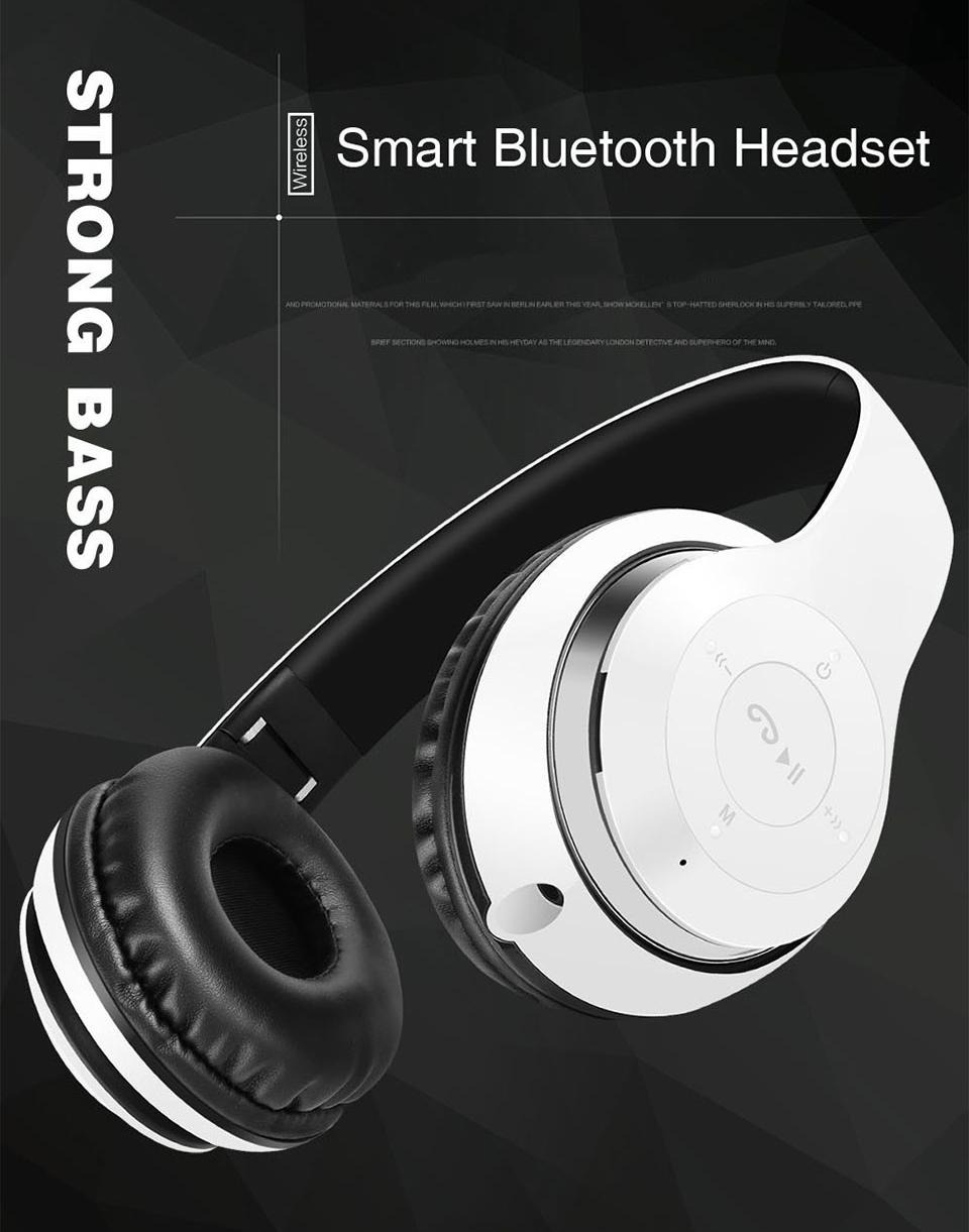 Details about BT-09 Wireless BT Headphones Foldable Headset Stereo Heavy  Bass Earphones LK