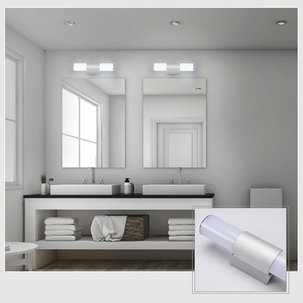 Modern Minimalist Bathroom Design: LED Acrylic Modern Minimalist Bathroom Mural Makeup Mirror